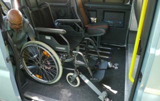 Rollstuhlfahrertransport Berlin Mietfahrzeuge