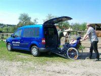 VW Cady Mietfahrzeug für Rollstuhlfahrer