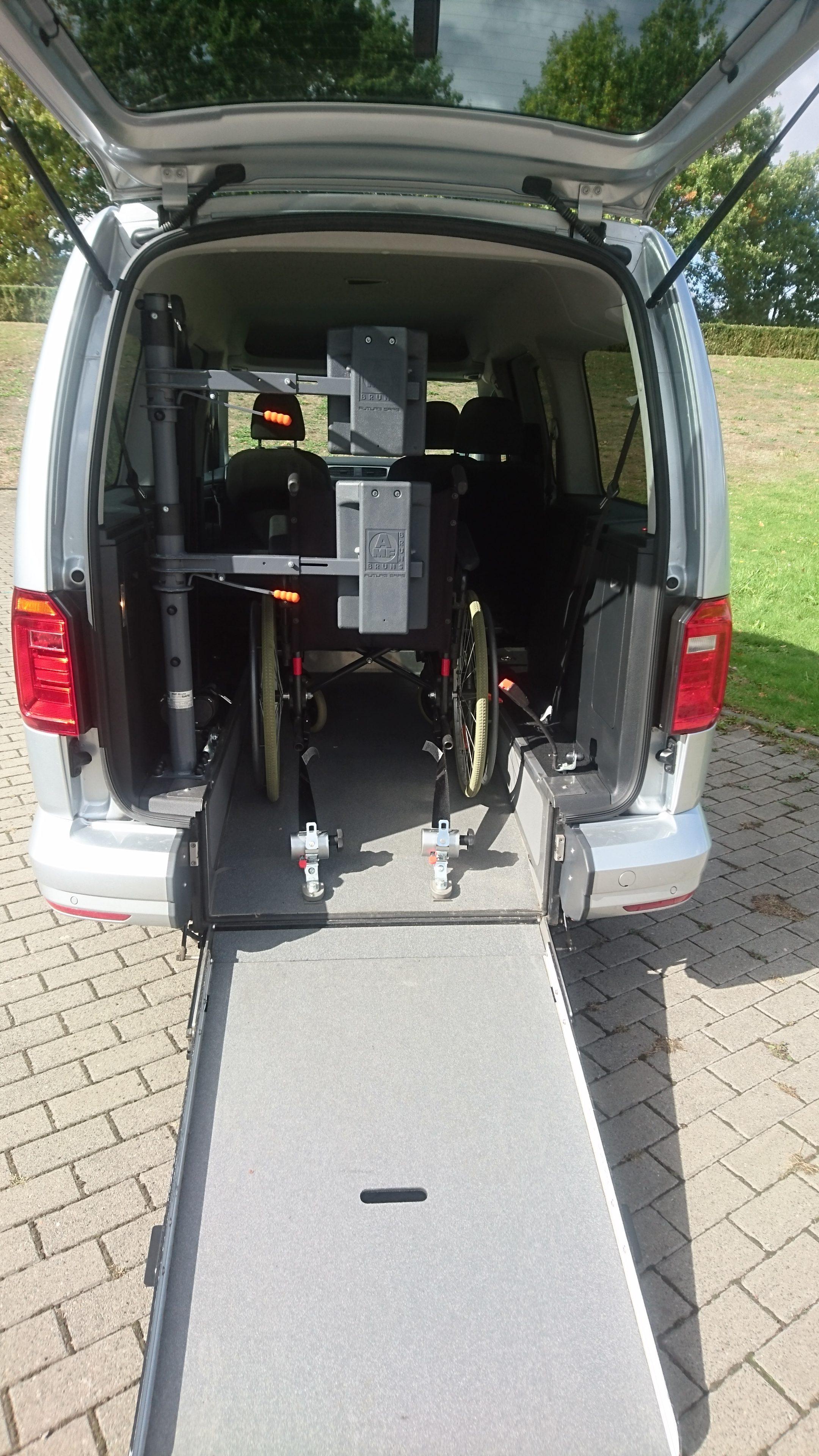 Behindertengerechte Mietwagen In Berlin Für Passiv Und Aktivfahrer